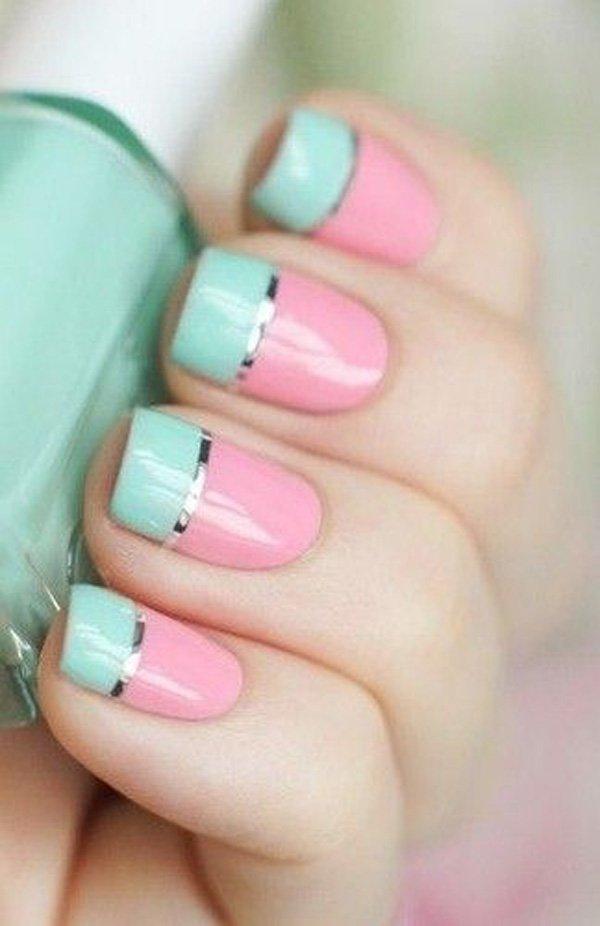 Lovely Metallic Nail Polish Ideas (24)