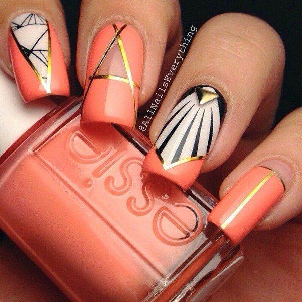 Lovely Metallic Nail Polish Ideas (29)