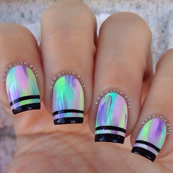 Lovely Metallic Nail Polish Ideas (36)