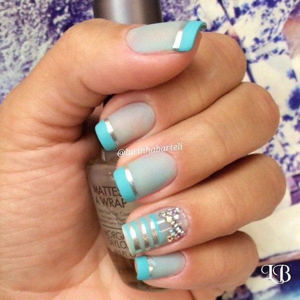 Lovely Metallic Nail Polish Ideas (38)