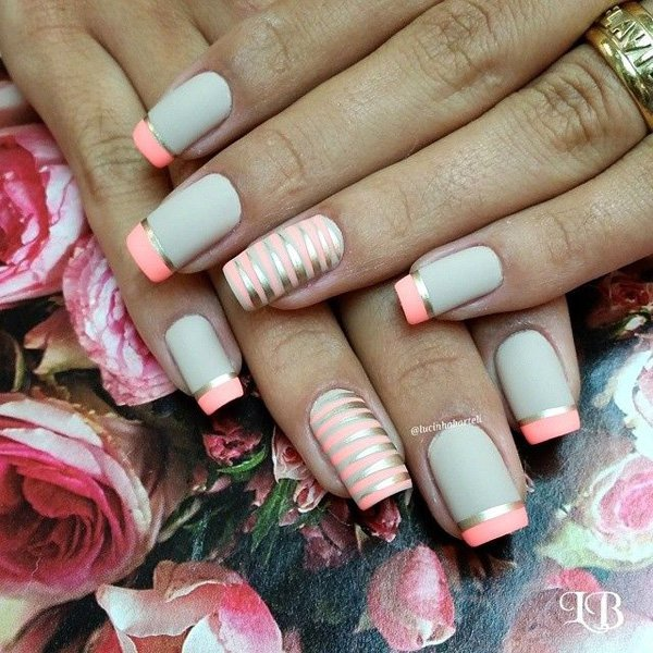Lovely Metallic Nail Polish Ideas (41)