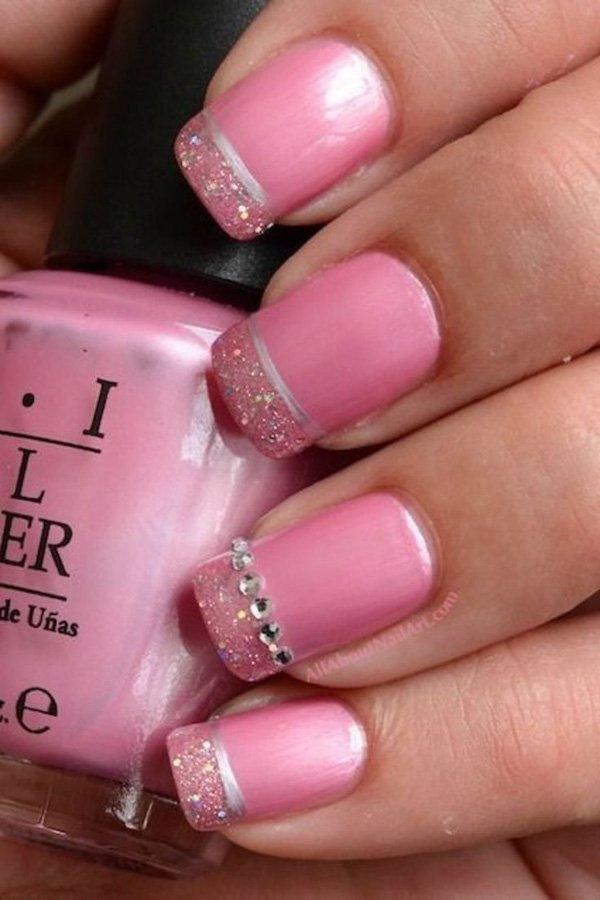 Lovely Metallic Nail Polish Ideas (45)