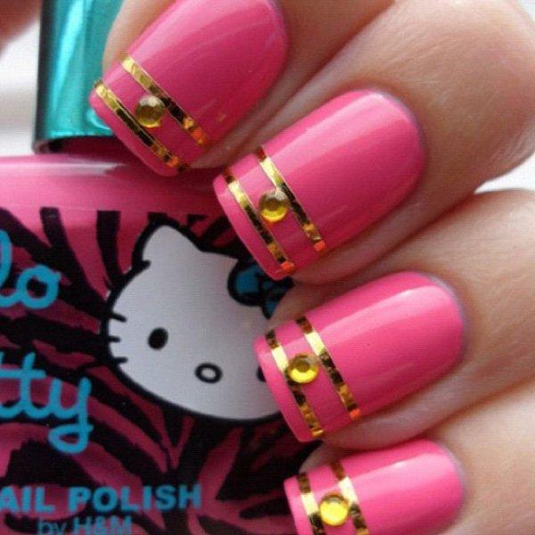 Lovely Metallic Nail Polish Ideas (48)