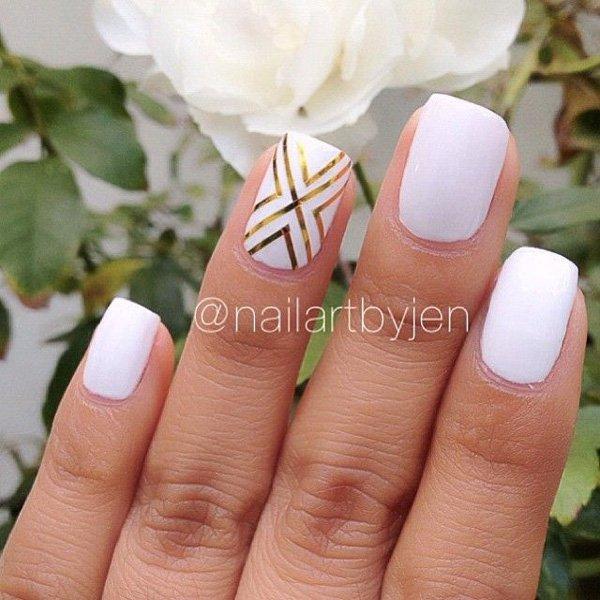 Lovely Metallic Nail Polish Ideas (54)