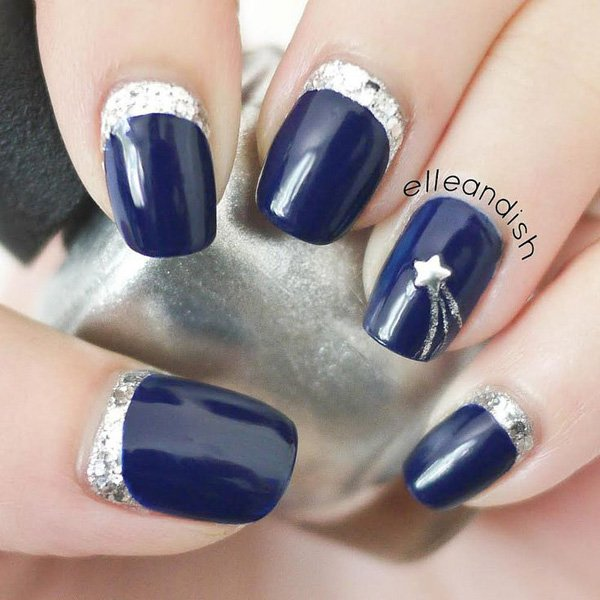 Lovely Metallic Nail Polish Ideas (9)