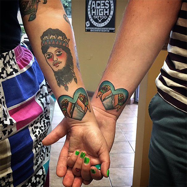 Best Matching Tattoos For Couples (4)