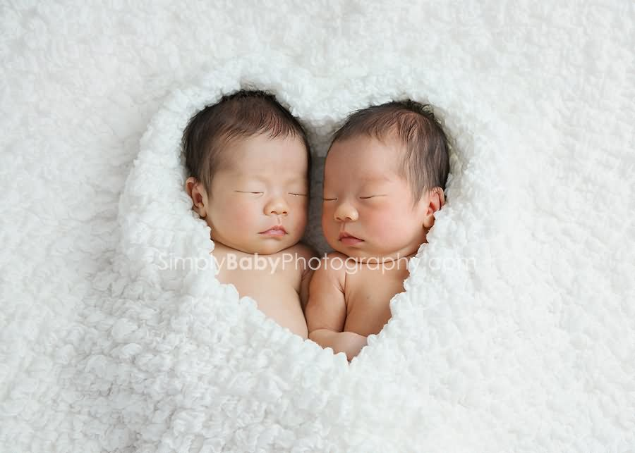 Cute Twin Babies Photos Great Inspire