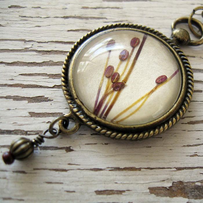 Botanical Flower Jewelry Created By Adrienne Deloe (10)