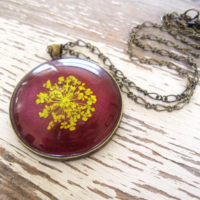 Botanical Flower Jewelry Created By Adrienne Deloe (15)