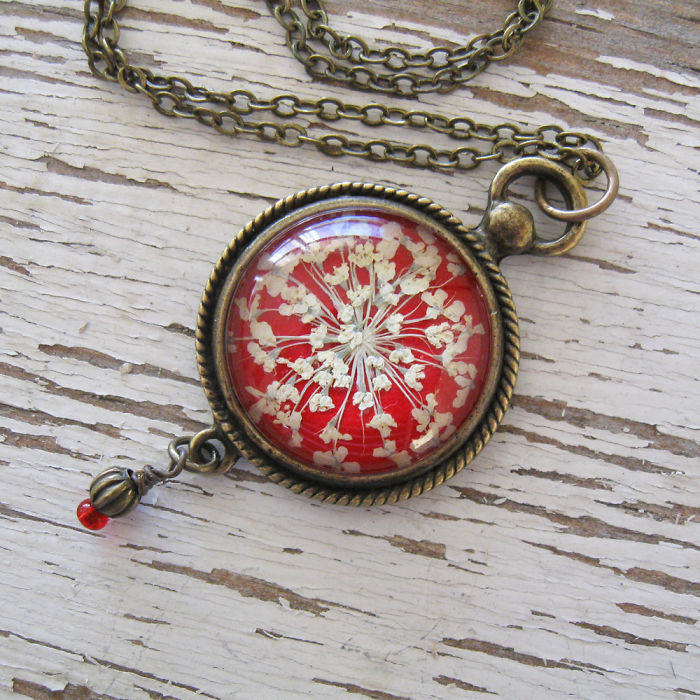 Botanical Flower Jewelry Created By Adrienne Deloe (16)