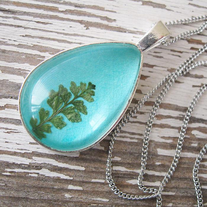 Botanical Flower Jewelry Created By Adrienne Deloe (22)