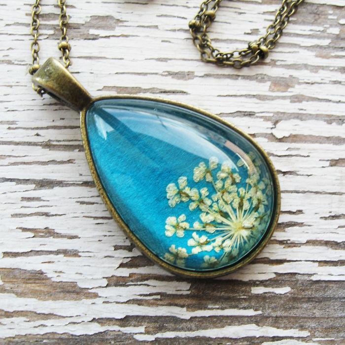 Botanical Flower Jewelry Created By Adrienne Deloe (3)