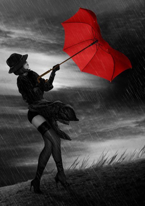 Pretty Girls Images In Rain (1)
