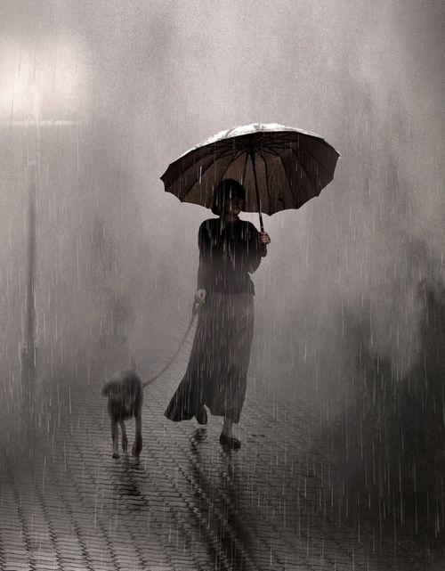 Pretty Girls Images In Rain (12)