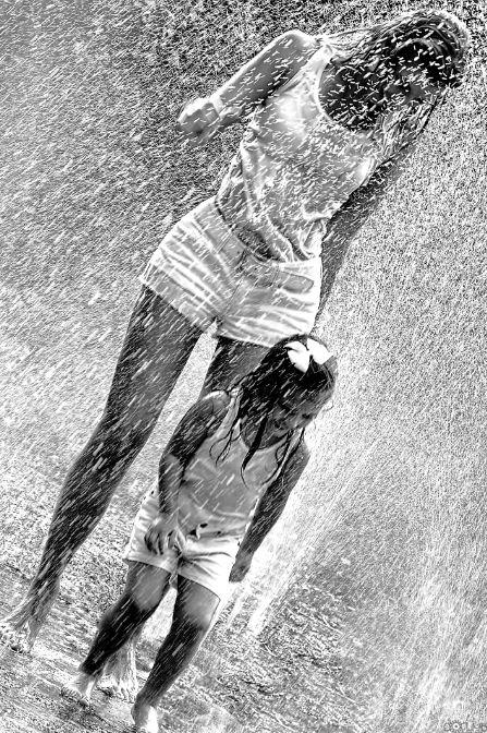 Pretty Girls Images In Rain (20)