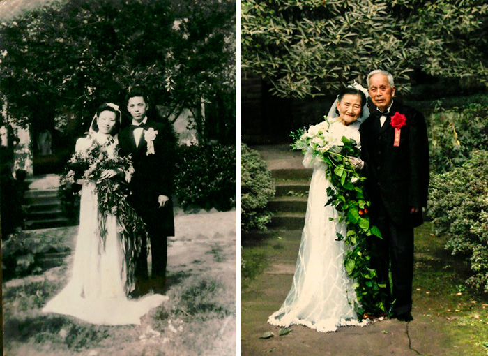 True Love Couples Recreating Their Old Photos (9)