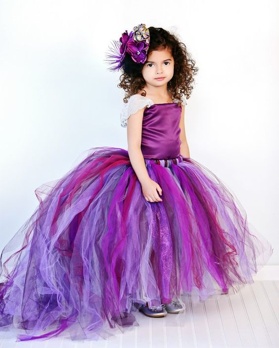 30+ Cute And Beautiful Flower Dress Baby Photos (13)