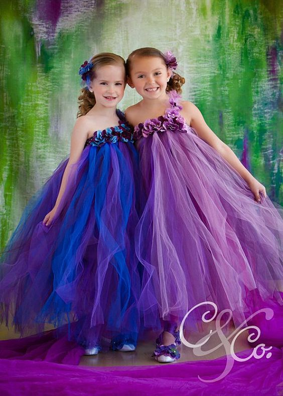 30+ Cute And Beautiful Flower Dress Baby Photos (21)