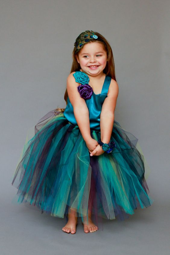 30+ Cute And Beautiful Flower Dress Baby Photos (34)