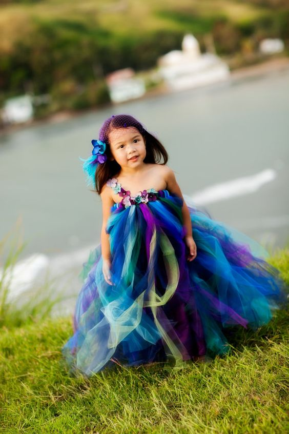 30+ Cute And Beautiful Flower Dress Baby Photos (6)