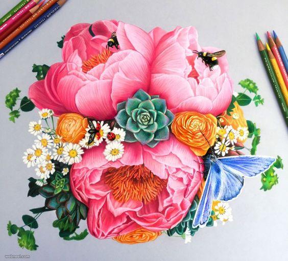 Beautiful Color Pencil Drawings (3)