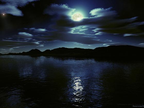 Beautiful Romantic Moonlight Wallpapers (28)