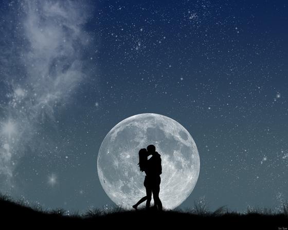 Beautiful Romantic Moonlight Wallpapers (3)