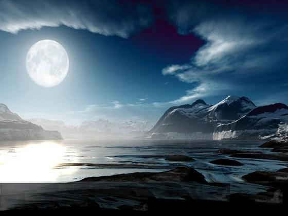 Beautiful Romantic Moonlight Wallpapers (31)