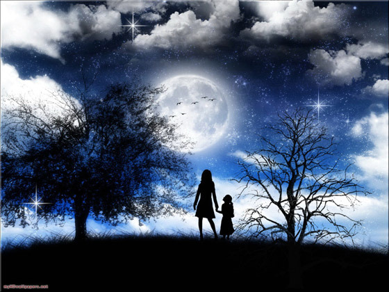Beautiful Romantic Moonlight Wallpapers (7)