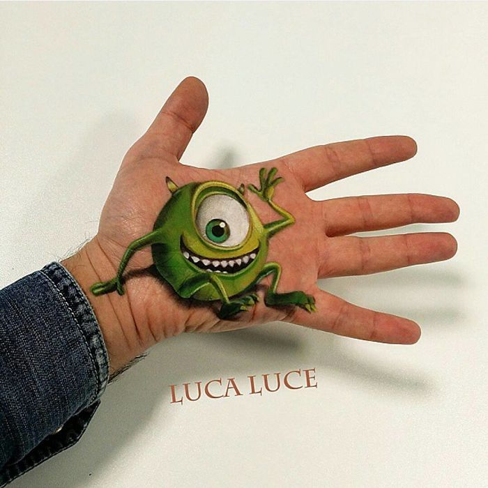 Incredible 3D Optical Illusions art (20)