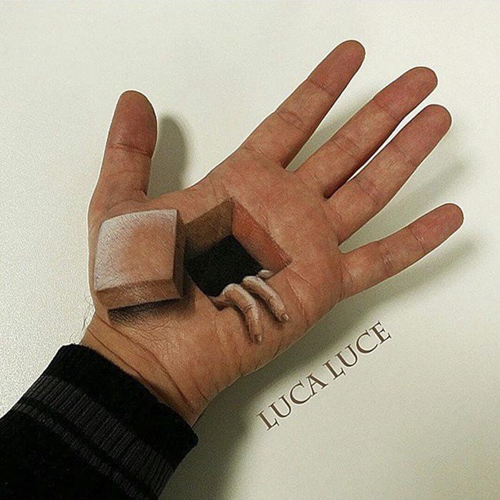 Incredible 3D Optical Illusions art (21)