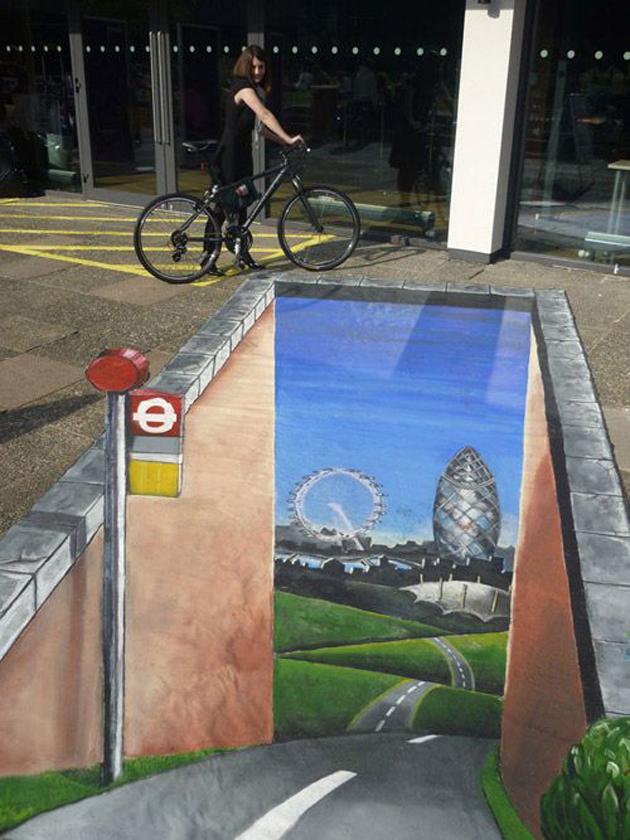 Incredible Stunning 3D Street Art (14)
