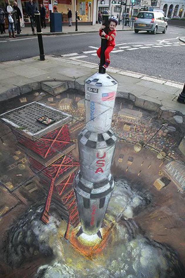Incredible Stunning 3D Street Art (15)