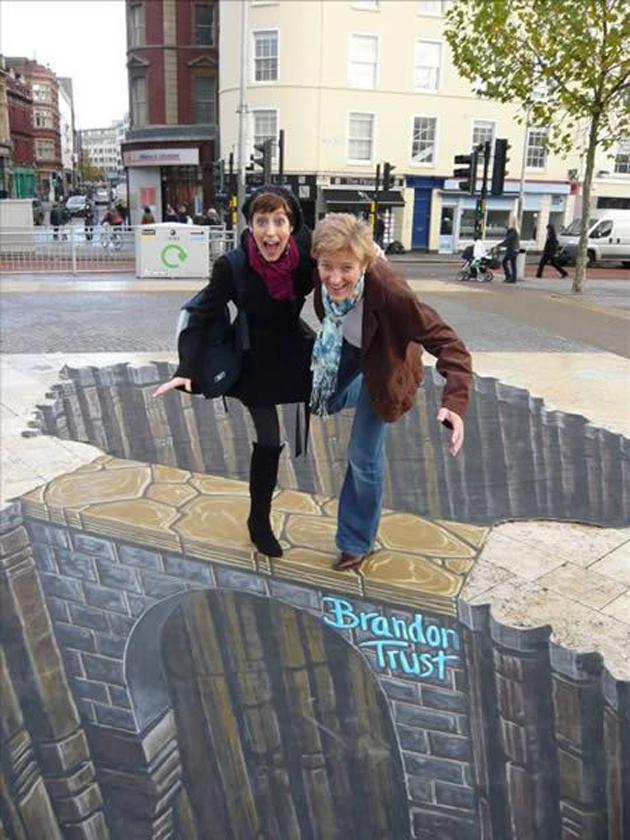 Incredible Stunning 3D Street Art (16)