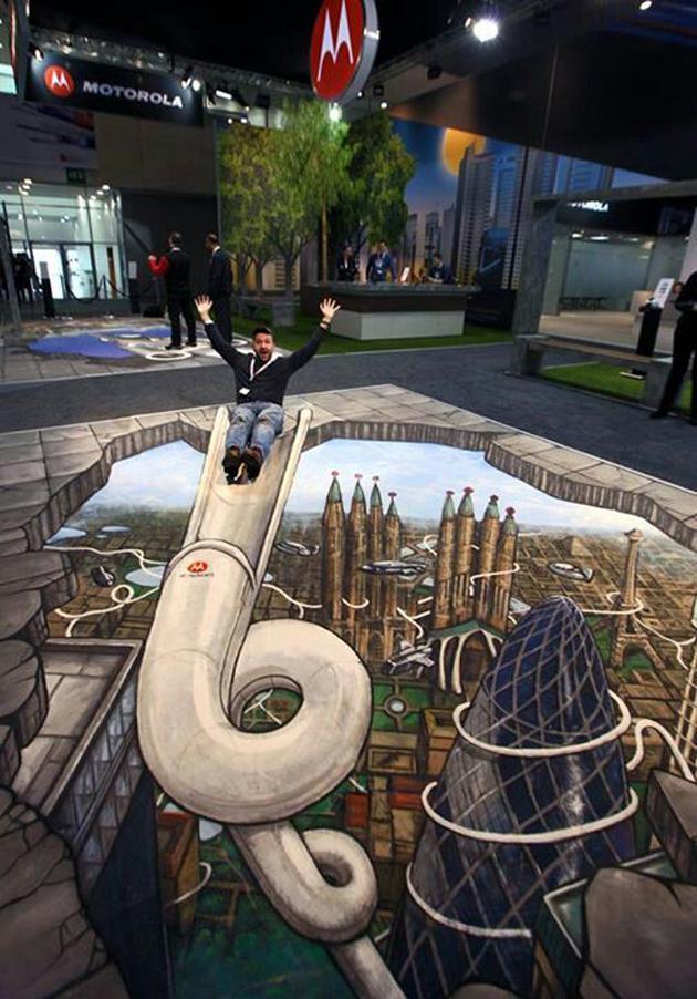 Incredible Stunning 3D Street Art (17)