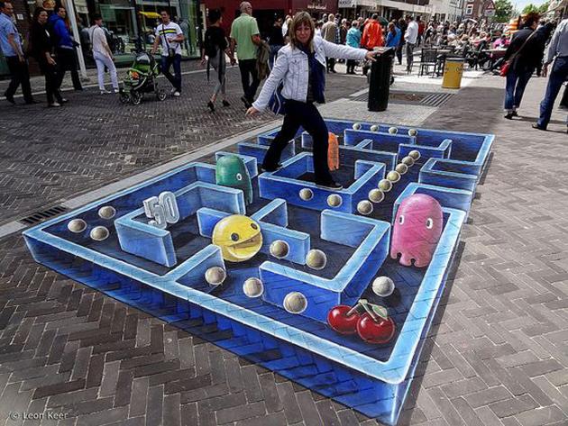 Incredible Stunning 3D Street Art (20)