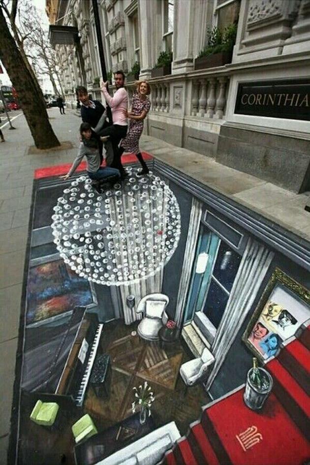 Incredible Stunning 3D Street Art (29)