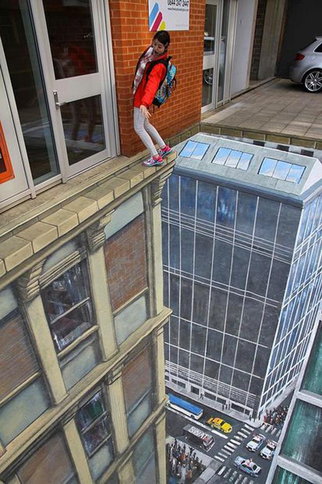 Incredible Stunning 3D Street Art (3)