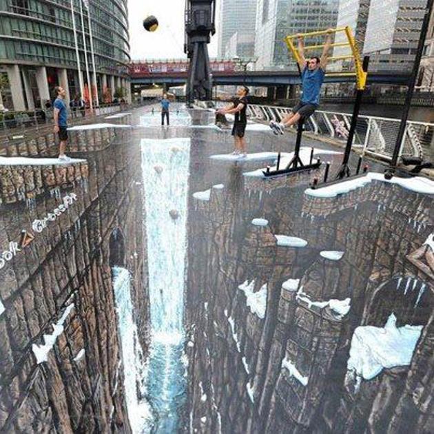 Incredible Stunning 3D Street Art (4)