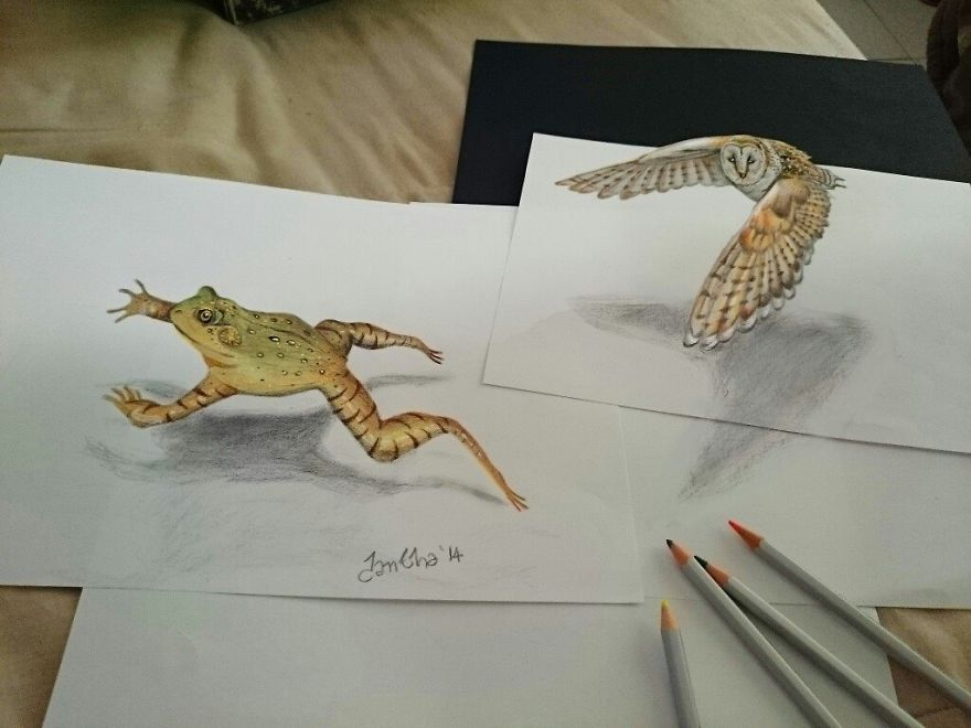 Stunning 3D Pencil Drawings (10)
