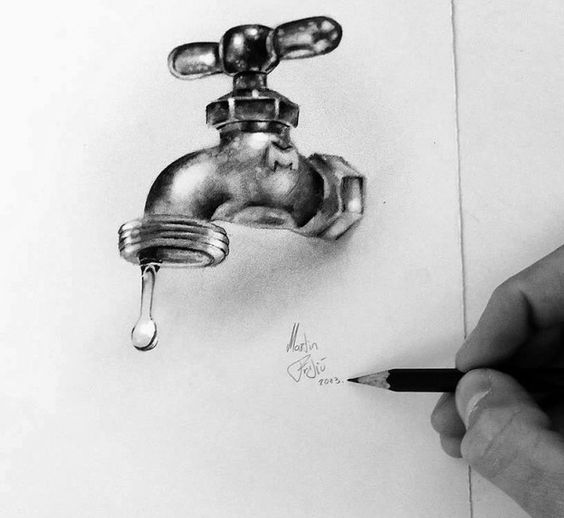 Stunning 3D Pencil Drawings (12)