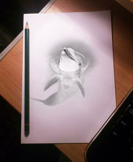 Stunning 3D Pencil Drawings (16)