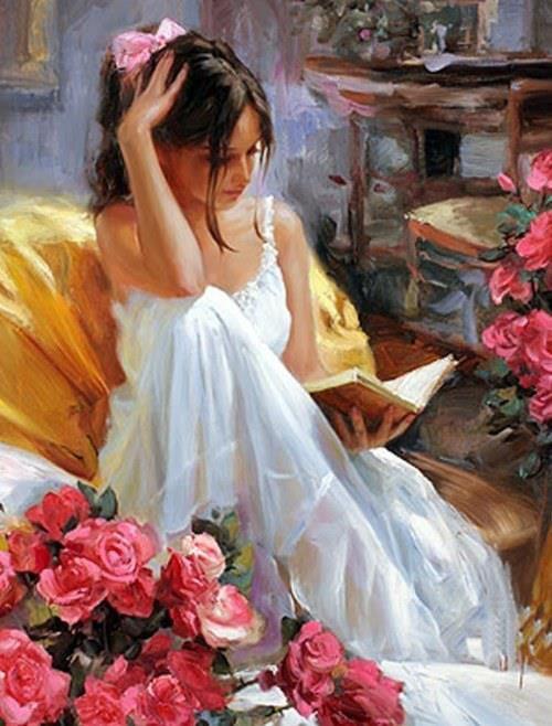 Stylish Girls Portraits Art By Pino Daeni (21)