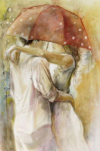 Stylish Girls Portraits Art By Pino Daeni (25)