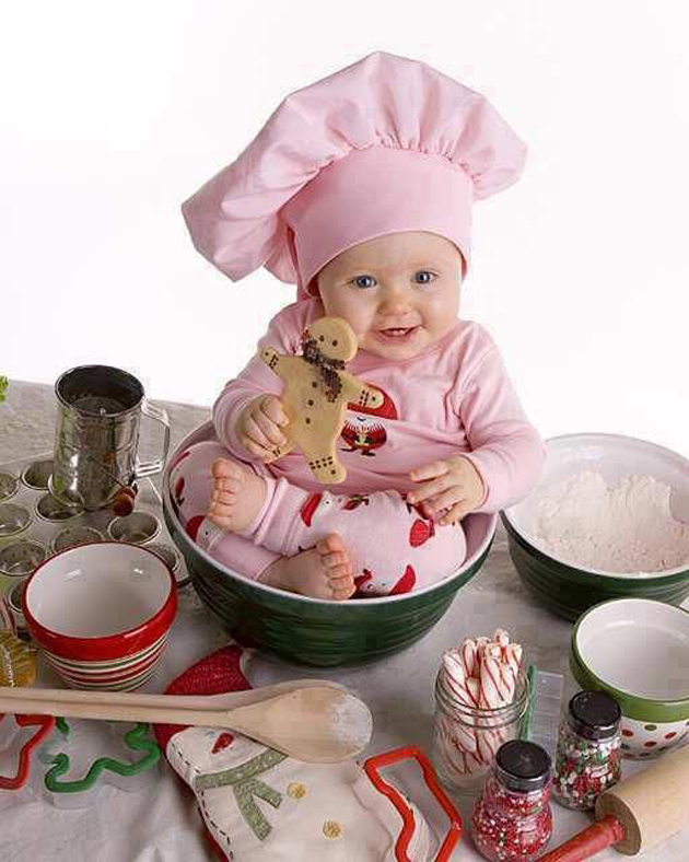Cute Little Baby Chef Photography (10)