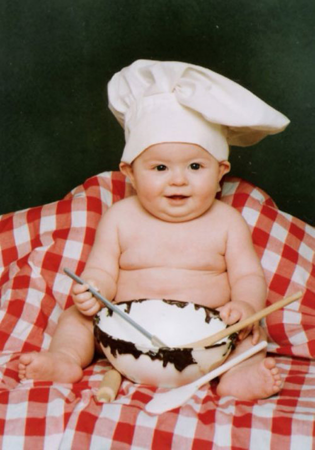 Cute Little Baby Chef Photography (26)