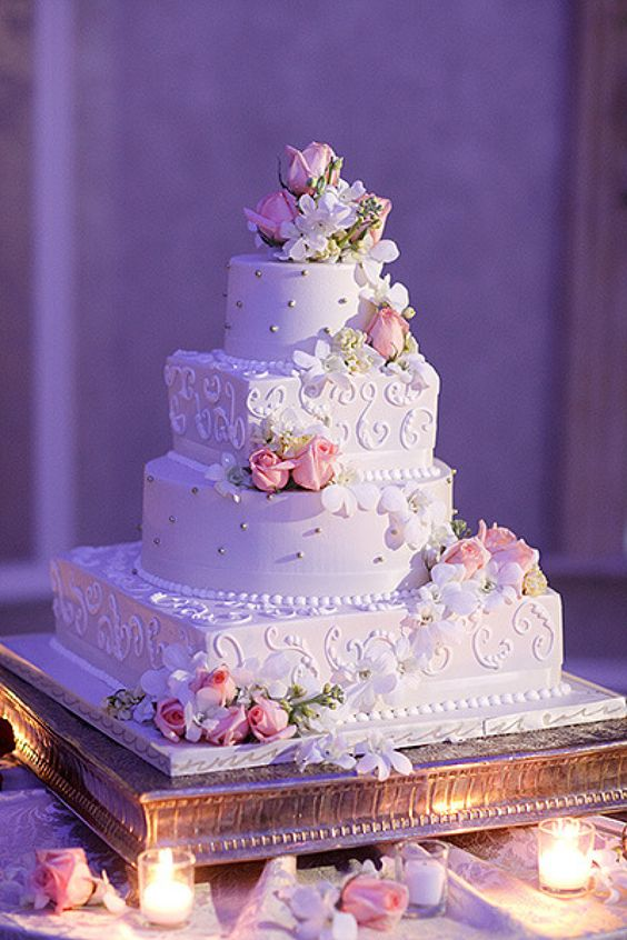 romantic wedding cakes wedding cake images great inspire 19255