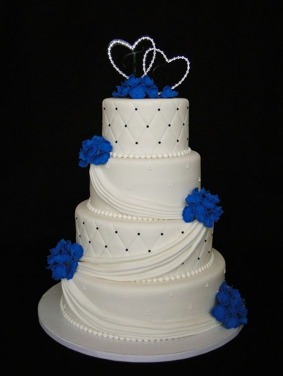 blue wedding cakes pictures wedding cake images great inspire 12020
