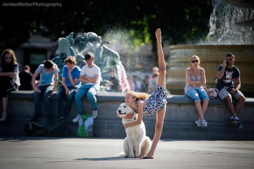 Дети Легко Совершать Необычные Танцевальные Движения (17)