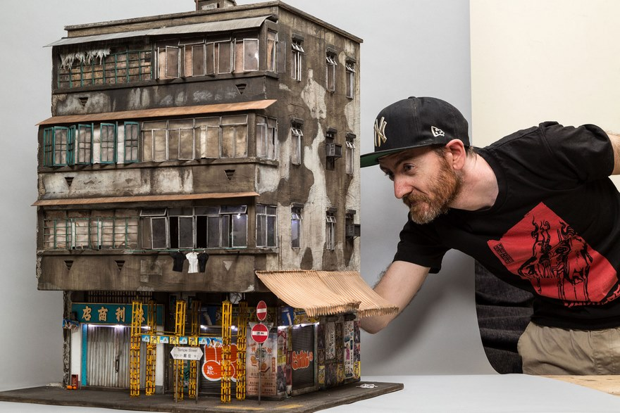 Ultra Realistic Urban Miniature Cities Created By Joshua Smith (13)